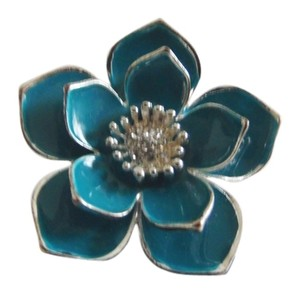 Flower Stretch Ring Size 8