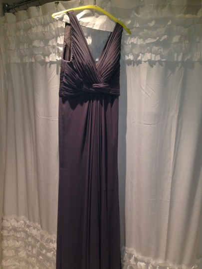 Wtoo Gray Polyester Formal Bridesmaid/Mob Dress Size 2 (XS) Image 1