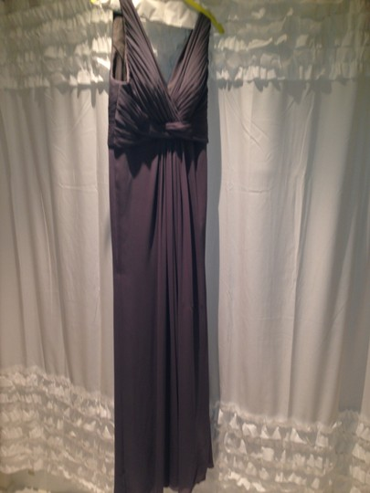 Wtoo Gray Polyester Formal Bridesmaid/Mob Dress Size 2 (XS) Image 3