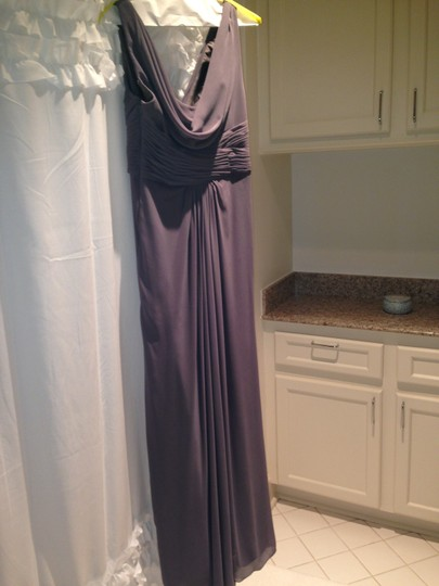 Wtoo Gray Polyester Formal Bridesmaid/Mob Dress Size 2 (XS) Image 4