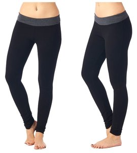 Popana USA Popana Yoga Pants - Charcoal /Black Size M NWOT