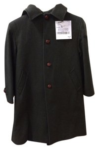Burberry Hooded Longsleeve Wool Party Luxury Trench Coat