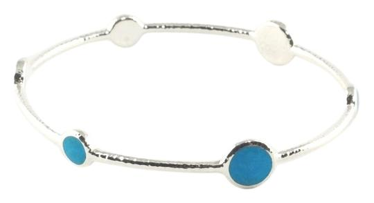 Preload https://img-static.tradesy.com/item/6723910/ippolita-blue-howlite-sterling-silver-bangle-station-stone-925-size-2-bracelet-0-2-540-540.jpg