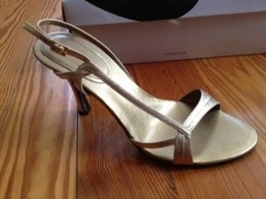 Nine West Gold Sandals