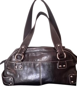 Franco Sarto Studded Satchel in Black