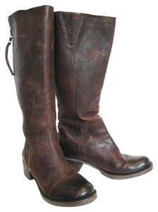 Lucky Brand Leather Rugged Brown Boots