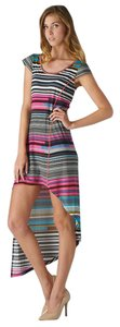 Maxi Dress by Esley Multicolor Stripped