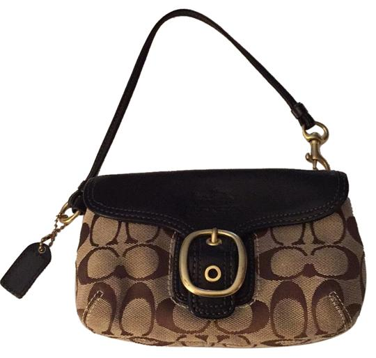 Preload https://item3.tradesy.com/images/coach-wallet-brown-taupe-leather-wristlet-6726877-0-1.jpg?width=440&height=440