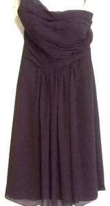 Bill Levkoff Bridesmaid One-shoulder Dress