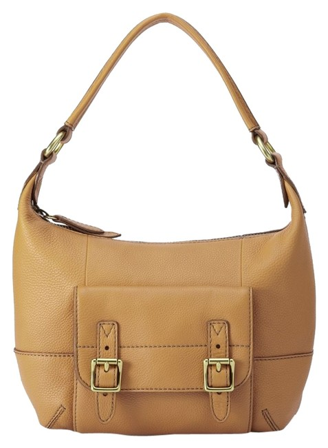 Item - Small In Light Tan Leather Hobo Bag