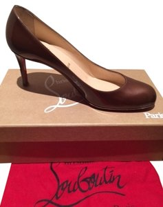 Christian Louboutin Chestnut copper Pumps