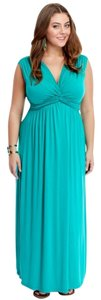 Green Maxi Dress by Fashion to Figure