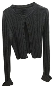 Express Cropped Sweater Cardigan