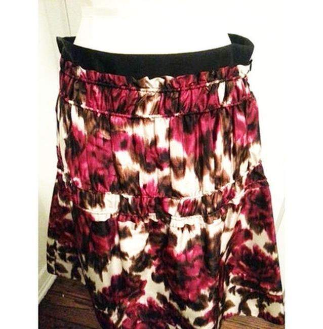 Derek Lam Skirt Red multi