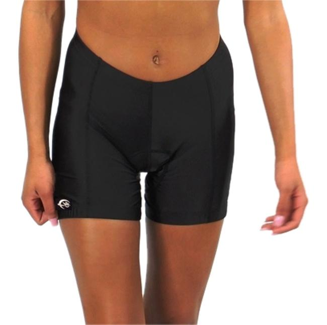 Item - Black Padded For Comfort Cycle - Bicycle Shorts Activewear Sportswear Size 8 (M, 29, 30)