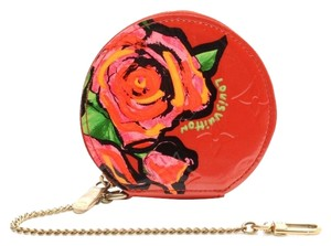 Louis Vuitton Red rose multicolor Clutch