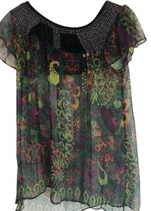 Custo Barcelona Top Green/Multi