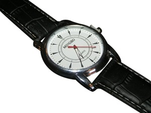 Mingbo BOGO Black & White Analog Quartz Unisex Watch Free Shipping