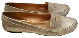 Kate Spade Gold crackle Flats