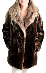Fur Mink Soft Fur Coat