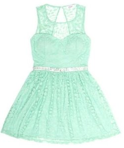 Candie's Party Sequin Lace Dress