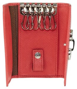 Salvatore Ferragamo **REDUCED*** Salvatore Ferragamo Embossed Leather 6 Key Holder