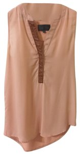 Anthropologie Top Blush & Tan