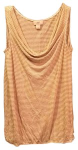 Ann Taylor LOFT Top Cream and Gold : neutral colors