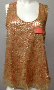 Very J Embellished Sleeveless Top