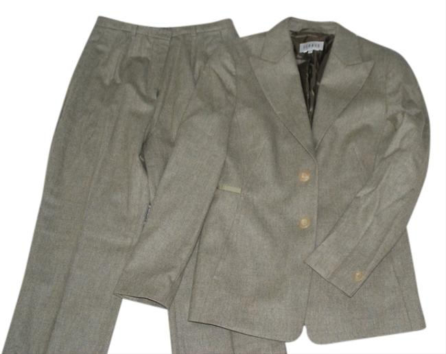 Preload https://item3.tradesy.com/images/louis-feraud-green-sage-pant-suit-size-8-m-6733177-0-1.jpg?width=400&height=650