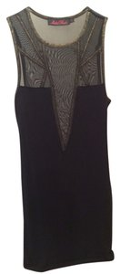 Motel Rocks Mesh Fitted Dress