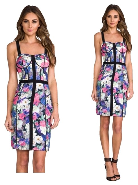 Preload https://item1.tradesy.com/images/rebecca-minkoff-floral-clara-above-knee-cocktail-dress-size-4-s-6733555-0-1.jpg?width=400&height=650
