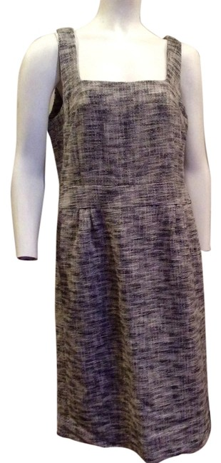 Preload https://img-static.tradesy.com/item/6733648/banana-republic-black-and-white-contemporary-tweed-career-knee-length-workoffice-dress-size-12-l-0-1-650-650.jpg