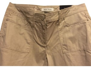 White House | Black Market Flare Pants TAN
