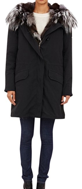 Item - Black Parka Coat Size 2 (XS)