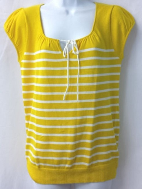 Banana Republic Knit Top YELLOW
