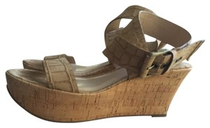 Via Spiga beige leather Sandals