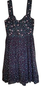 French Connection short dress Navy Printed on Tradesy
