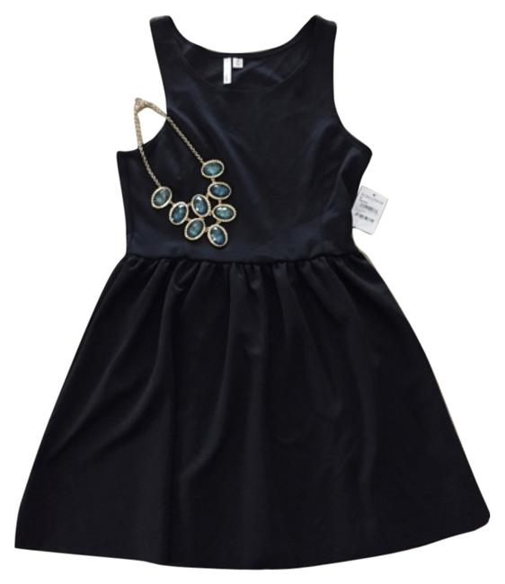 Preload https://img-static.tradesy.com/item/6734890/frenchi-black-above-knee-cocktail-dress-size-8-m-0-1-650-650.jpg