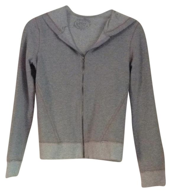 Preload https://item3.tradesy.com/images/gray-with-peach-stitching-sweatshirthoodie-size-4-s-6734962-0-1.jpg?width=400&height=650