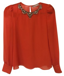 Zara Top Orange