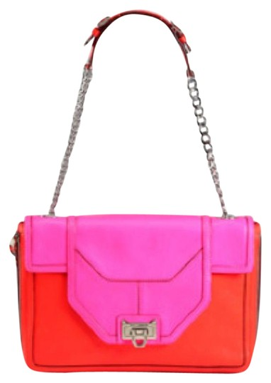 Preload https://img-static.tradesy.com/item/6735649/rebecca-minkoff-allie-redneon-pink-leather-shoulder-bag-0-1-540-540.jpg