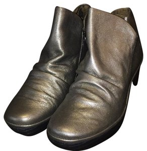 FLY London Pewter leather Boots