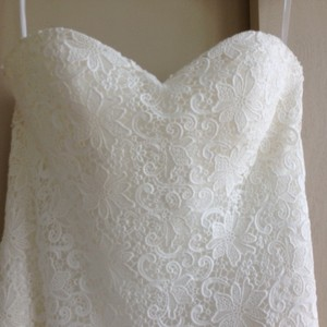 Casablanca Guipure Lace Dress Wedding Dress