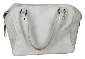 Kate Spade Leather Satchel in white
