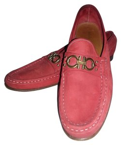 Salvatore Ferragamo Flat Red Flats