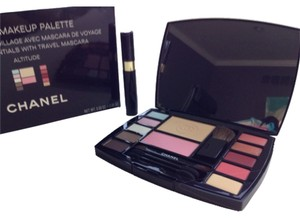 Chanel NEW AUTHENTIC CHANEL makeup palette bag brushes travel kit