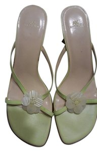 Anne Klein Lime Green Sandals