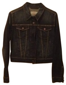 Levi's Denim Jean Trendy Hipster Hollywood Los Angeles Womens Jean Jacket