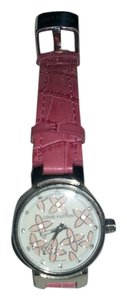 Louis Vuitton Louis Vuitton pink Tambour Watch